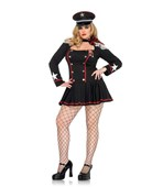Plus Size Major Mayhem Military Costume
