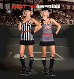 Double Play Sports Baseball Player & Referee - 2 Costumes in One