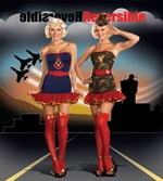 Reversible Sailor & Army Costume - 2 Costumes in One
