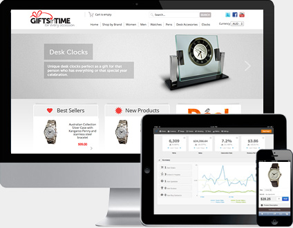 Ecommerce software for successful online stores.