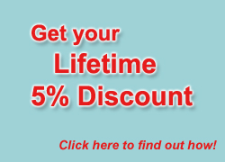 Lifetime 5% Discount