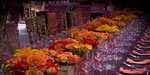 We design your event, theme the look, make up the flowers, install and collect everything later.