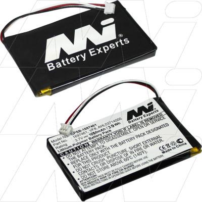 Replacement battery for tomtom go live 1005
