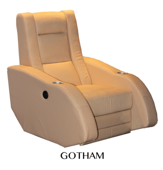 Manhattan Gotham Electric Reclining Home Cinema Lounge