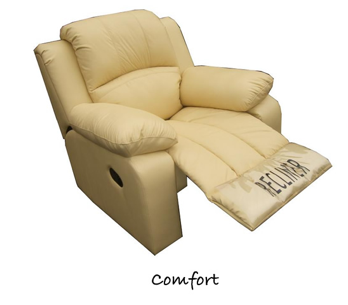 Manhattan Comfort Electric Reclining Home Cinema Lounge