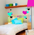 Hearts - Vinyl wall decals