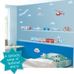 BoscoBear Wall Decals - Transport