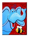 Canvas Print-  Elephant