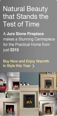 Jura Stone Fireplaces