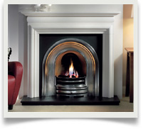 Arched Cast Iron Fire Inserts