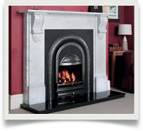 Power Flue Cast Iron Fire Inserts