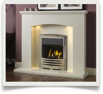 Micro Marble Fireplace Packages