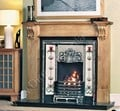 Agnews Fireplaces, Oxford Cast Iron Tiled Insert
