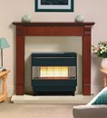 Robinson Willey Firegem Visa Highline Electronic Outset Gas Fire