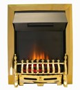 Axon Brass Electric Coal Fire