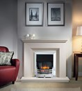 Cranbourne Jurastone Fireplace Package Complete With Bauhaus Electric Fire