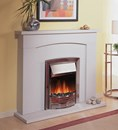 Dimplex Adagio Silver Inset Electric Fire 