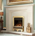 Verine Orbis high efficiency gas fire