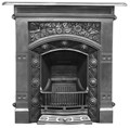 Carron Fireplaces, Jekyll Late Victorian Cast Iron Combination Fireplace