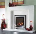 Verine Frontier high efficiency hearth mounted gas fire