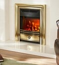 Valor Dimensions Classica Brass Electric Fire