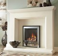 Verine Frontier hearth mounted inset gas fire