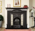 Agnews Fireplaces, Harton Cast Iron Mantel.