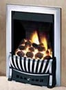 Axon Radiant Chrome Gas Fire