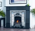 Agnews Fireplaces, Flat Victorian Black Granite Mantel
