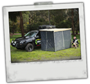 Mozzie Screen for 4x4 4wd Awning 1.4 x 2.0m