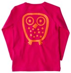 Big Owl l/s tee - Pink