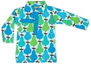 Collar shirt - Blue Pear - LAST ONE LEFT, sz 4-5yrs!