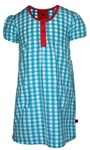 Dolly dress - blue gingham, sz 5yrs - 60% OFF!