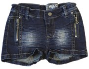 Girl's dark denim shorts - 50% OFF!