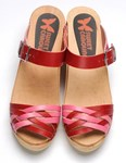 Boho-Licious Clog - Red/pink - 33% OFF!