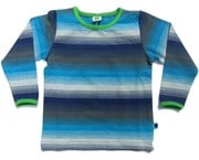 Faded stripes tee - Blue by Smafolk