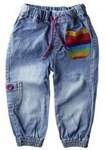 Rainbow denims