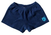 Terry shorts in navy by Smafolk - 50% OFF!