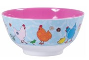 Melamine bowl - Blue Hen