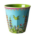 Melamine cup - Flower Field Print 