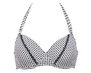 Swimmable Womens Underwear - Bra in Black & White - 65% OFF!