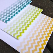 Chevron Personalized Stationery