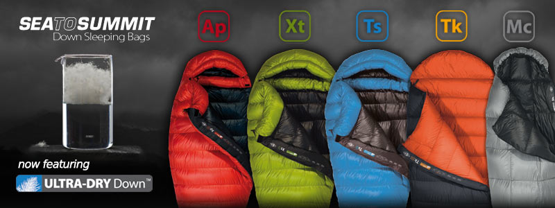 Sea to Summit Ultra-Dry Down Sleeping Bags