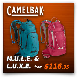Camelbak M.U.L.E and L.U.X.E.