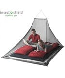Sea To Summit - Nano Mosquito Net Double- Pyramid Permethrin Treated