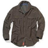 Craghoppers Nosi Life Long-Sleeved Shirt Mens - Dark Khaki