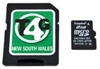 Memory Map Topo4GPS NSW