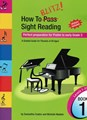 How To Blitz Sight Reading Bk 1- Prelim to early Grade 3