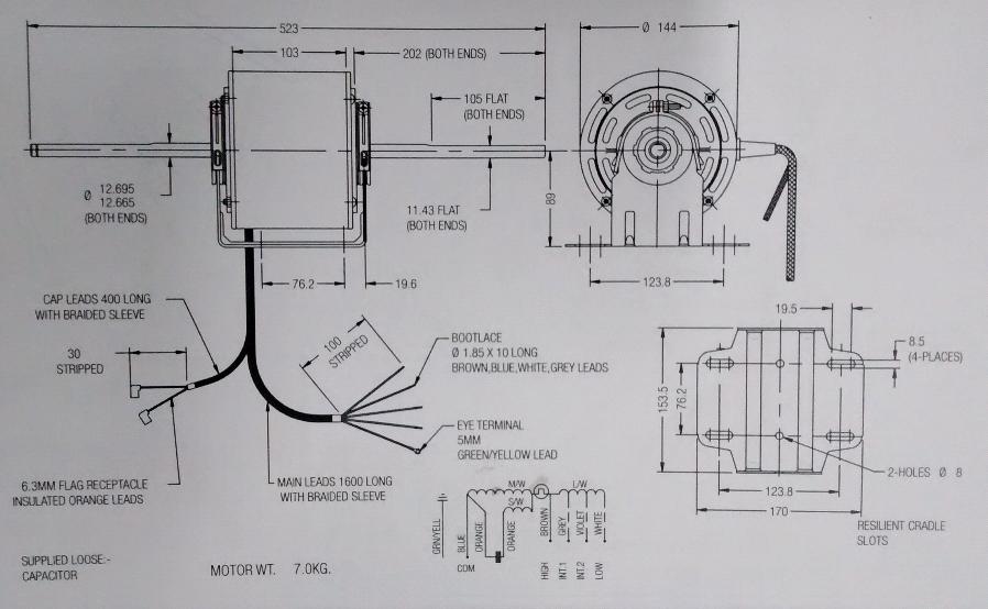Atemberaubend Fasco Fan Motor Schaltplan Galerie - Elektrische ...