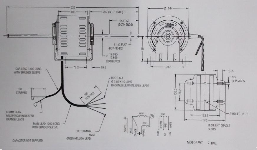 Ausgezeichnet Fasco Fan Motor Schaltplan Galerie - Der Schaltplan ...